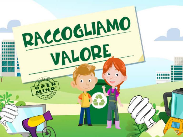 Raee, riparte l'iniziativa Ecolamp, Raccogliamo Valore