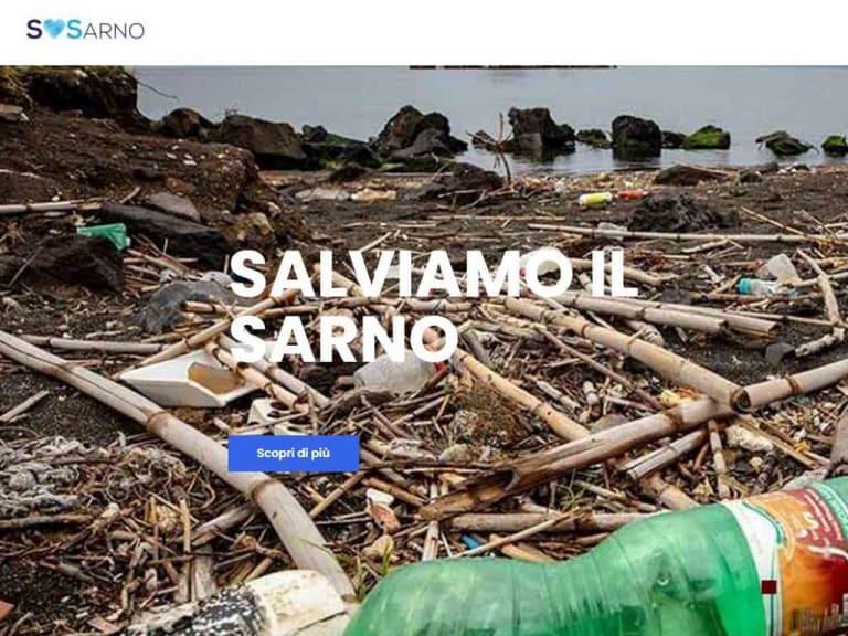 Un sito web per segnalare gli sversamenti inquinanti nel fiume Sarno
