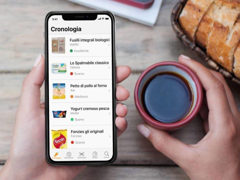 Un'app che aiuta a mantenere un'alimentazione sana: è Yuka