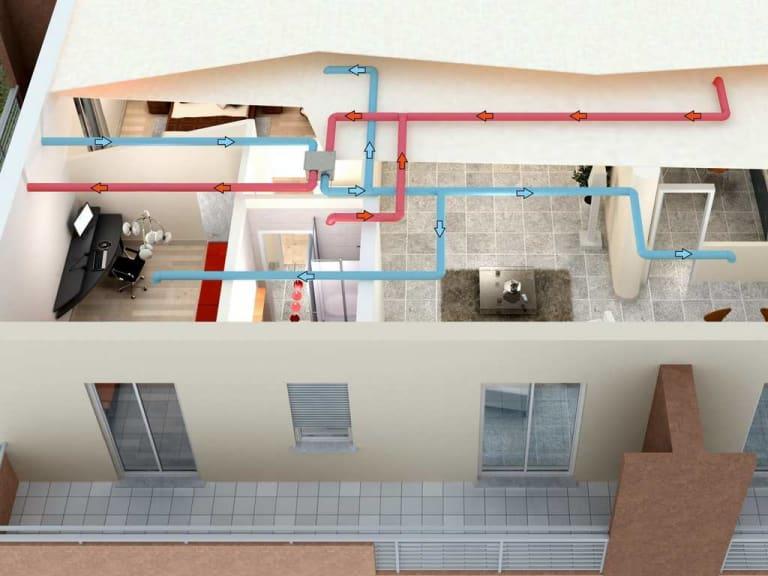 Respirare aria pulita negli ambienti interni