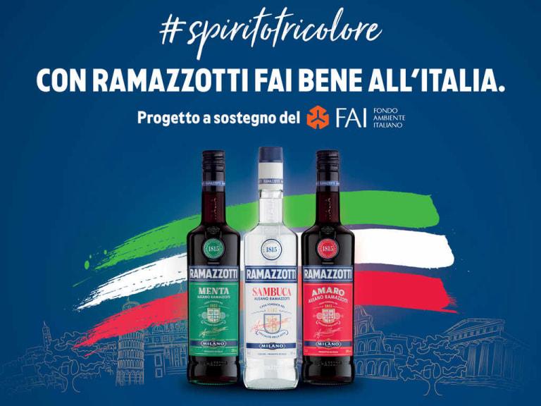"""Ramazzotti a fianco del Fai per una Csr """"made in Italy"""""""
