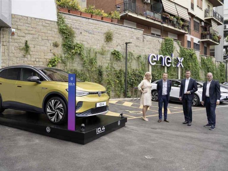 Enel X e Volkswagen, una joint venture per la mobilità elettrica