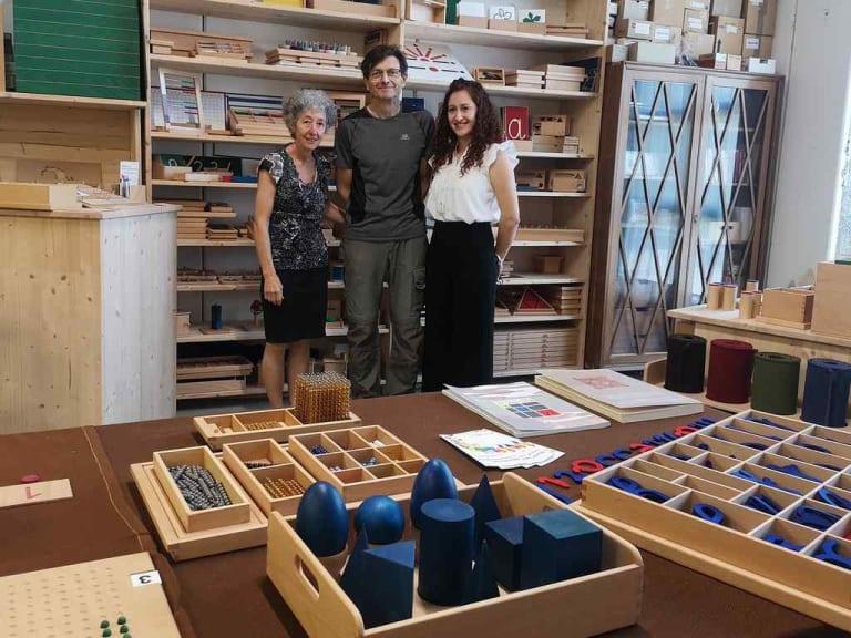 La didattica plastic free conta sulla falegnameria Montessori