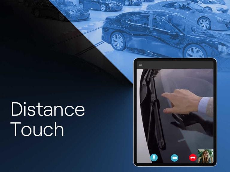Distance Touch, un canale virtuale per la vendita di auto