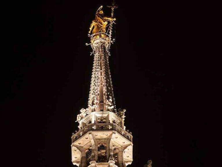 Una nuova illuminazione per il Duomo di Milano