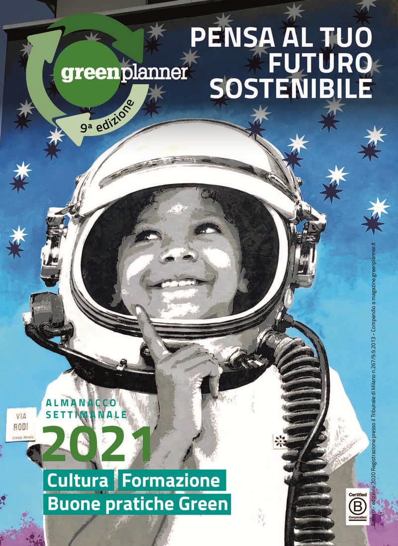 copertina greenplanner 2021 - green planner 2021