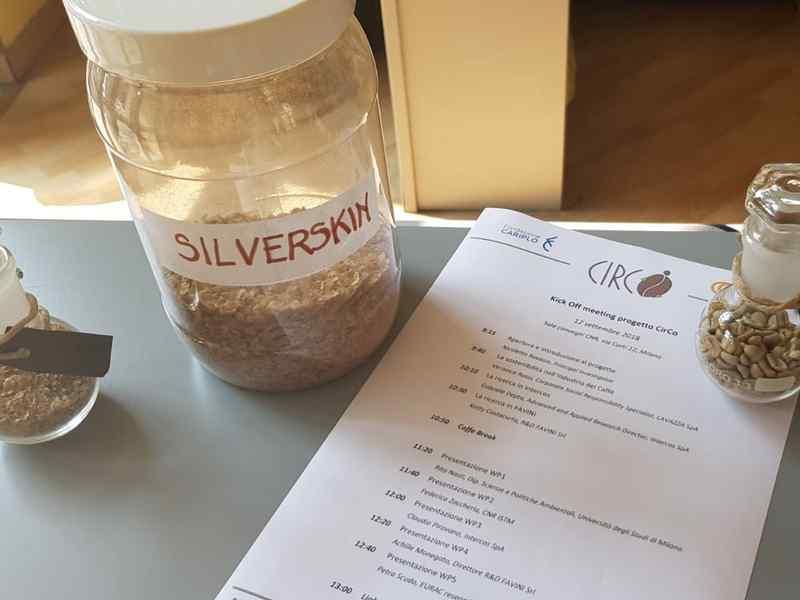 silverskin - riuso pellicina caffé