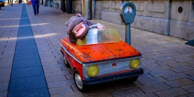 FIAT 500 elettrica per bambini