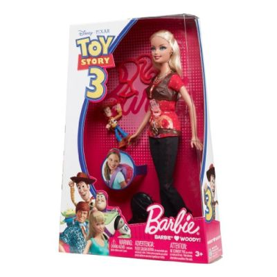 Barbie Toy Story 3 Barbie e Woody