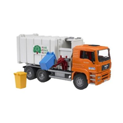 Bruder 02761-MAN - Camion dell'immondizia
