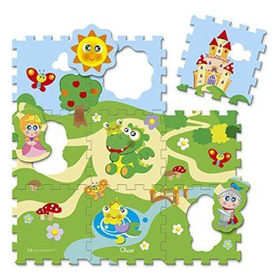 Chicco 00005316000000 - Tappetino Puzzle, Castello
