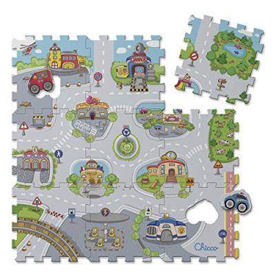 Chicco 7163 Tappeto Puzzle, Città