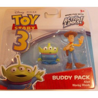 COLLEZIONE Toy Story 3 Mattel-Minipack Woody+Alieno