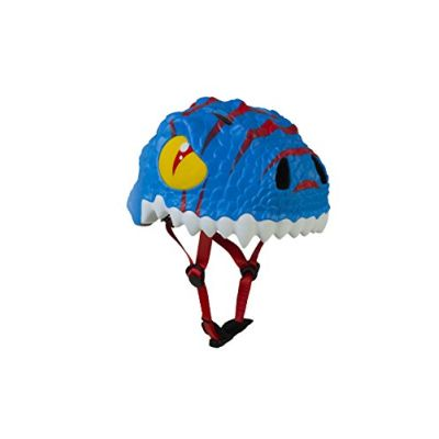Crazy Safety The Sky Dino, Casco Unisex Bambini, Blu, S