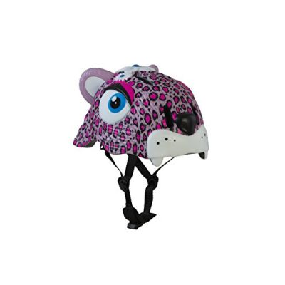 Crazy Safety The Sweet Leopard, Casco Unisex Bambini, Rosa, S