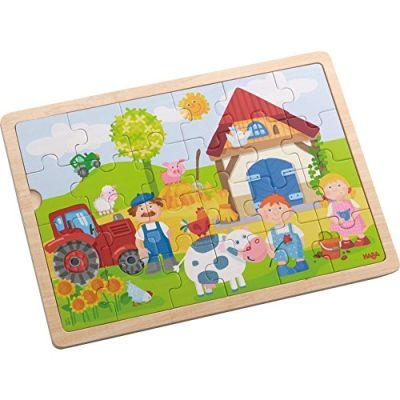 Haba, 301942,puzzle in legno motivo fattoria