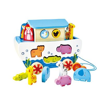 Hape E8049 - Arca di Noè Trainabile