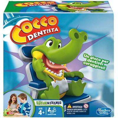 Hasbro Gaming-B0408103 Cocco Dentista (Gioco in Scatola), B0408103