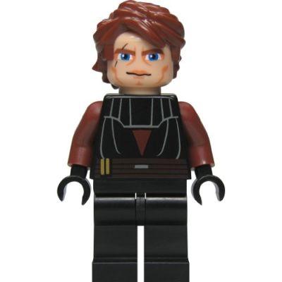 LEGO Star Wars: Anakin Skywalker (Clone) Minifigura Con Blu Lightsaber