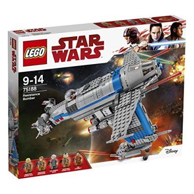 Lego Star Wars Bombardiere della Resistenza,, 75188