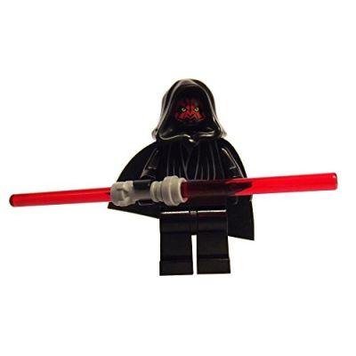 LEGO Star Wars: Darth Maul Minifigura Con Double Rosso Lightsaber