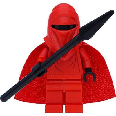 LEGO Star Wars: Imperial Royal Guardia Minifigura Con Lancia Nera