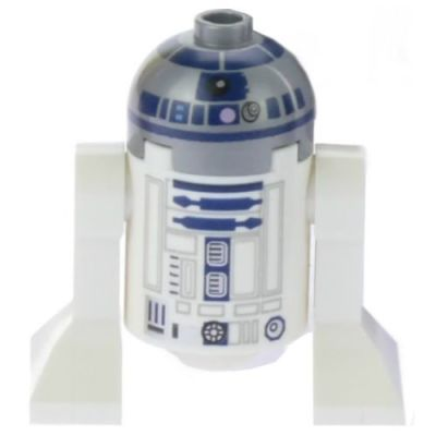 LEGO Star Wars Minifigure R2-D2 Astromech Droid Lavender Dots (75136) by LEGO