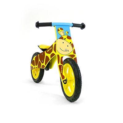 Milly Mally Bicicletta per bambini in legno, motivo: Giraffa