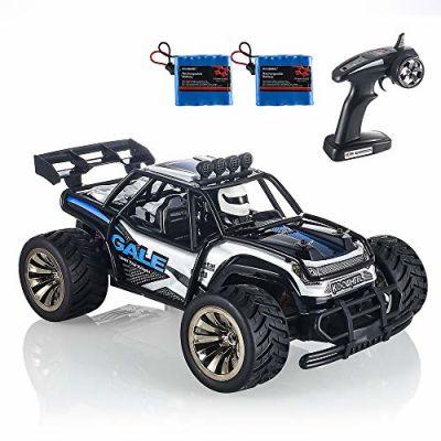 RC Auto, KOOWHEEL 2.4Ghz Auto Radiocomandata RC CAR 1:16 2WD Alta Velocita Monster Truck Telecomando con 2 Batterie Ricaricabili (1512 RC Auto)