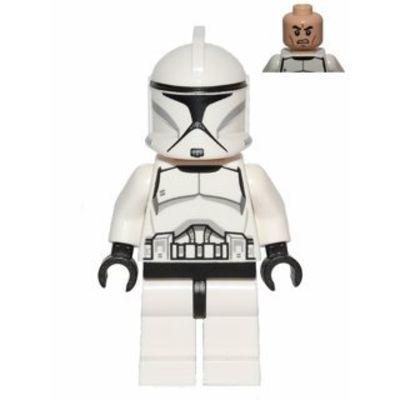 Star Wars LEGO Mini Figura Clone Trooper–Nuova variante 2013im ungeoeffneten originale di bustine