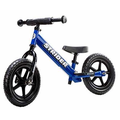 Strider 12 Sport Balance Bike, Bicicletta per Bambini, 18 Mesi - 5 Anni, Blu