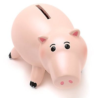 Ufficiale Disney Toy Story Hamm Piggy Money Bank figura