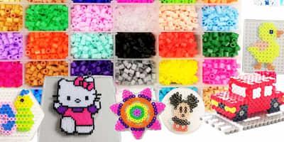 Perline da stirare - Ikea PYSSLA e Hama Beads