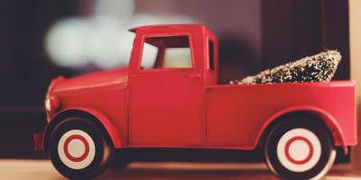 Camion giocattolo, camion dei pompieri e della spazzatura