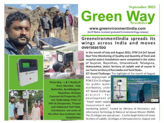 GreenvironmentIndia spreads its wings across India