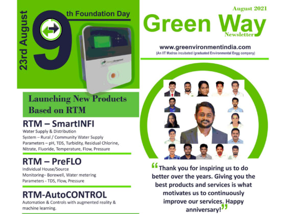 Green Way Newsletter, 9th Foundation Day Issue