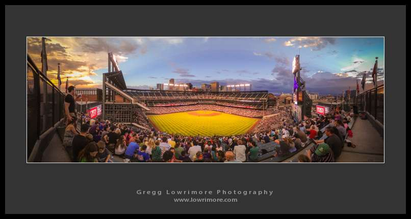 Coors Field from the Rockpile