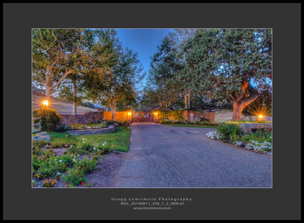 Neverland Ranch Entrance
