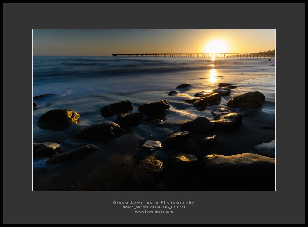 Beach Sunset 20160916 013