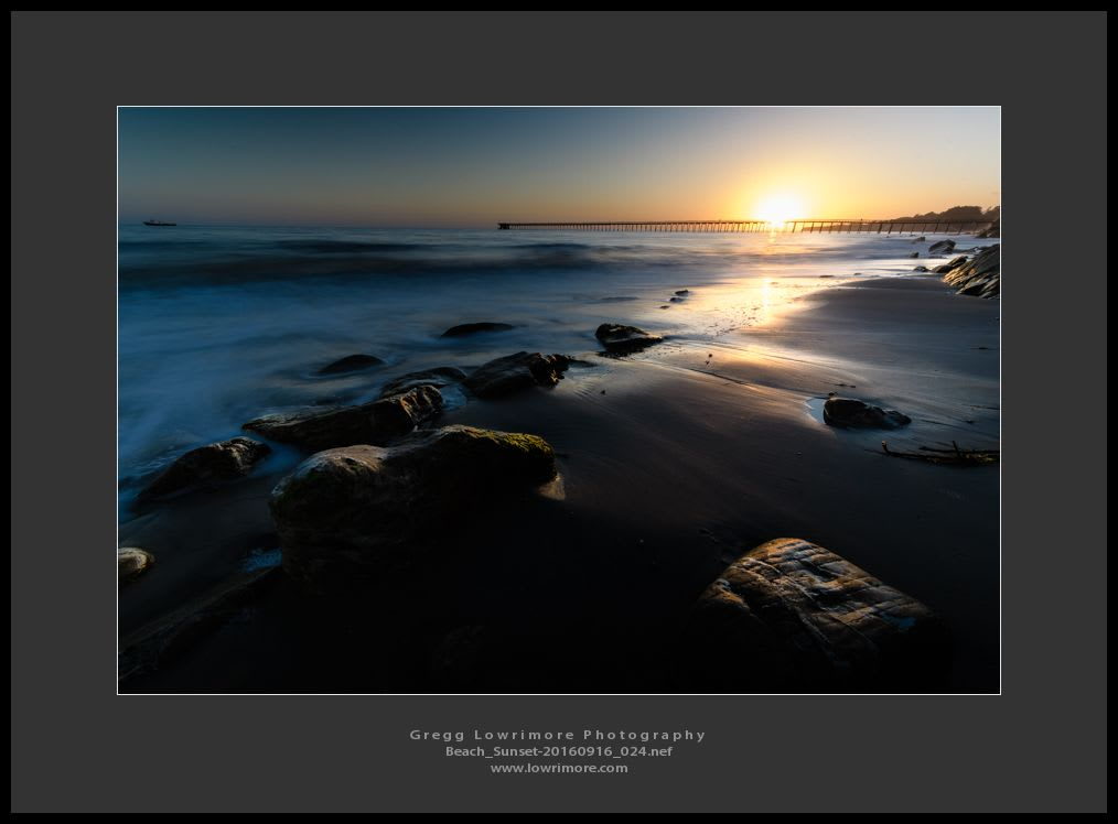 Beach Sunset 20160916 024