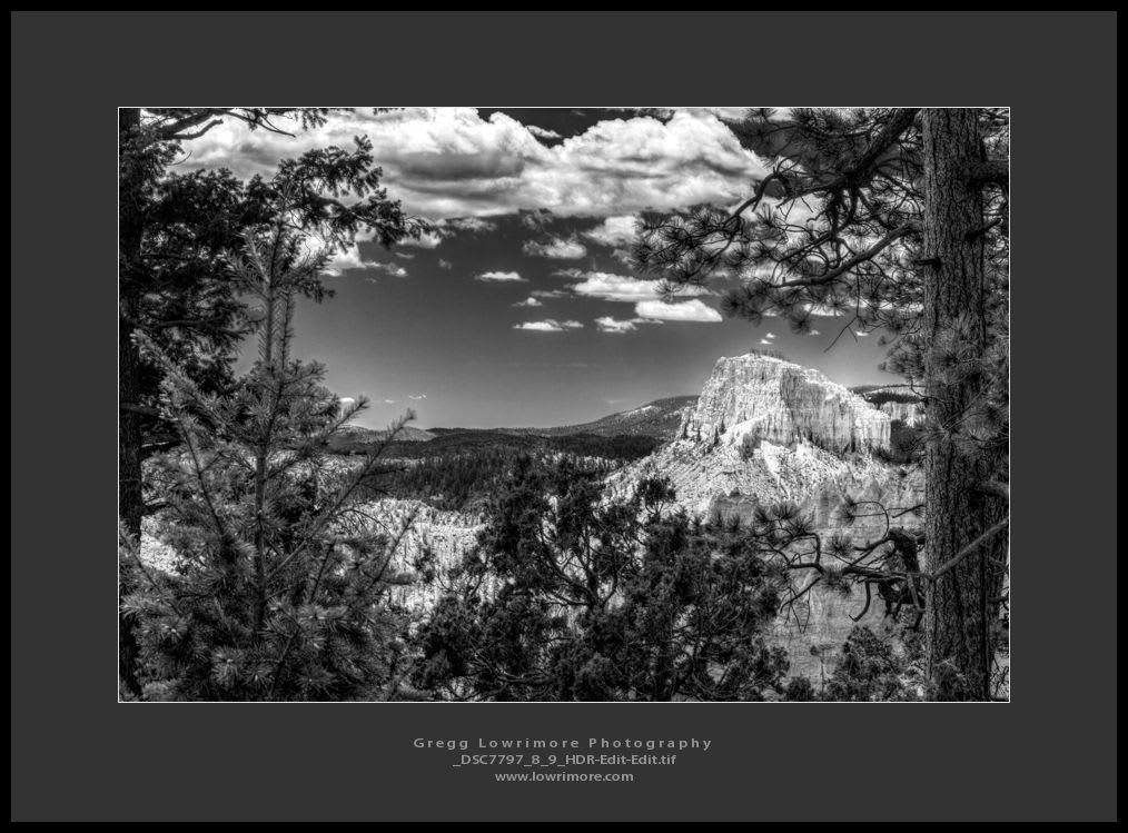 Bryce Canyon - Swamp Canyon Overlook