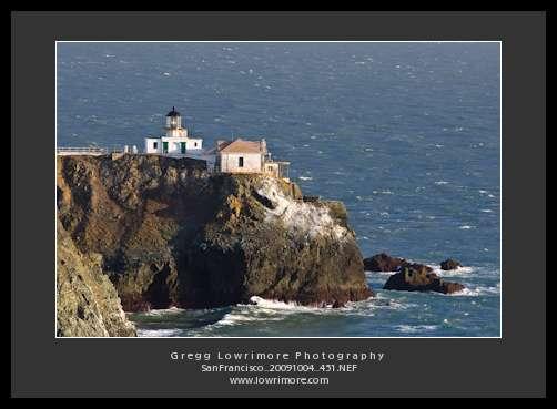 Point Bonita Lighthouse and Shoreline