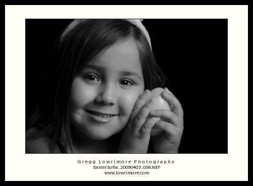 Sofia's Easter Portrait 2009