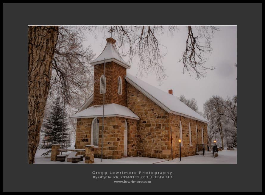 Ryssby Church 20140131 013 HDR (Edit)
