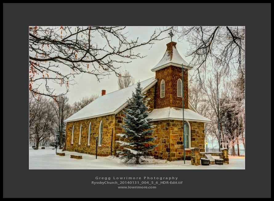 Ryssby Church 20140131 004_5_6 HDR (Edit)
