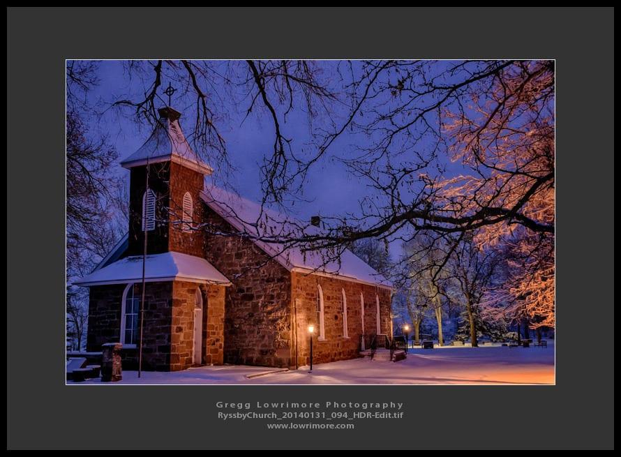 Ryssby Church 20140131 094 HDR (Edit)