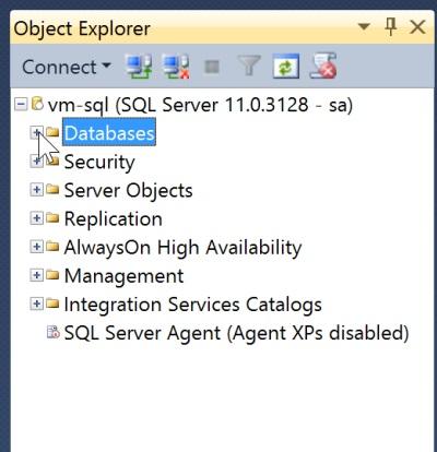 SSMS Object Explorer