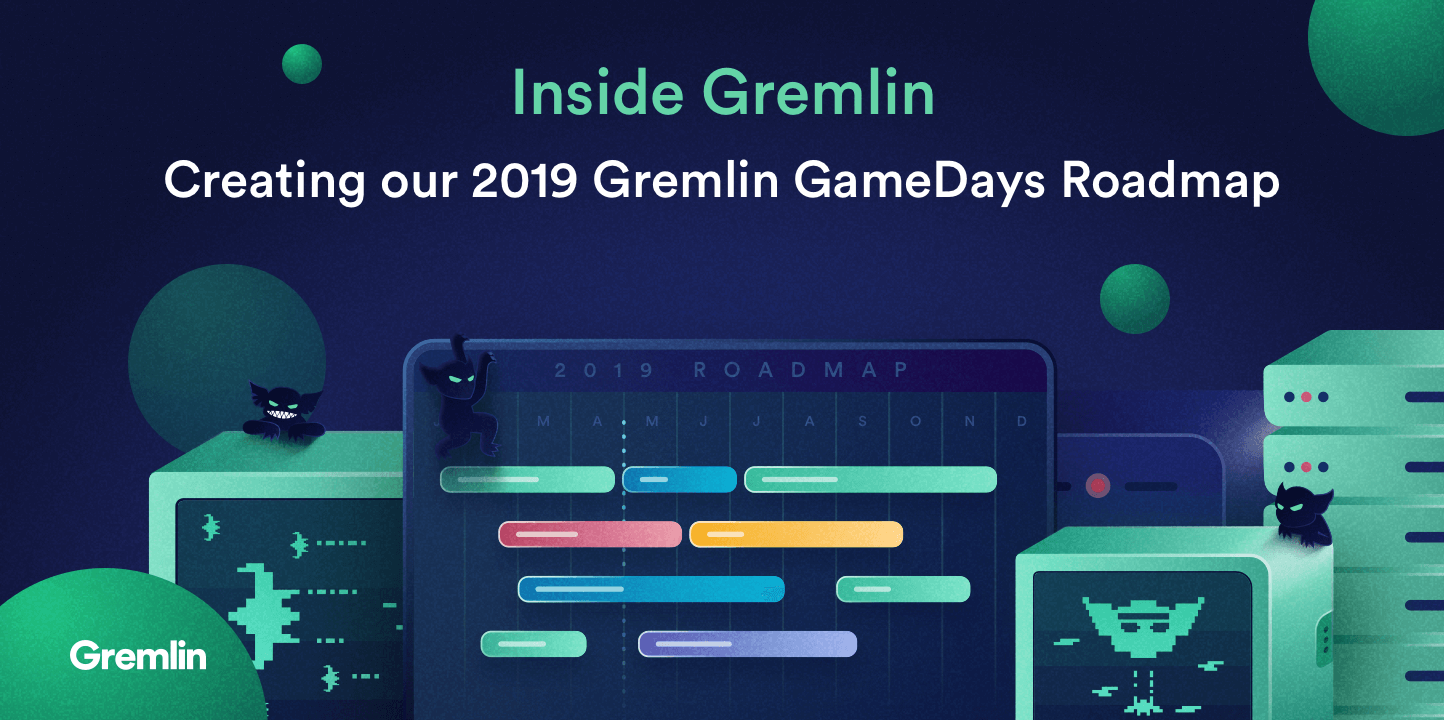 Inside Gremlin: 2019 Gremlin GameDays Roadmap