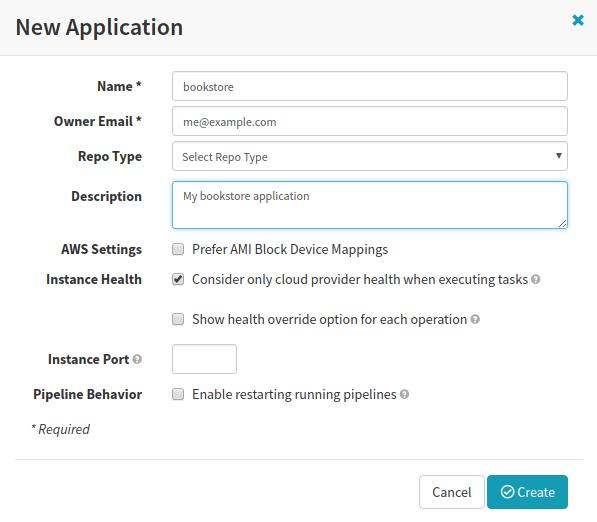 developer-tutorial-add-spinnaker-application
