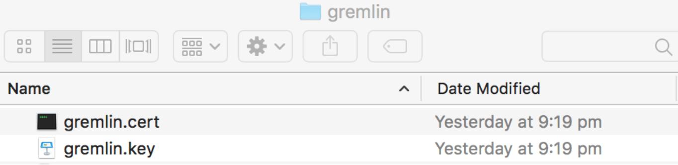gremlin directory